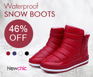 Up To 46% Off Women Waterproof Snow Boots