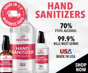 300x250 Medyskin Family Packs Hand Sanitizers