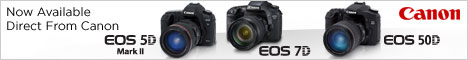 New Canon EOS 5D Mark II and 7D Cameras