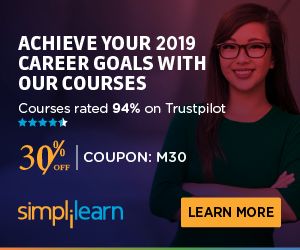300x250 Coupon 30% OFF on Self-Paced Courses