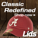 NCAA hats and gear at lids.com!