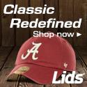 NCAA hats and gear at lids.com!
