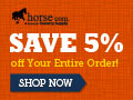 Get $5.99 Flat Shipping at horse.com!