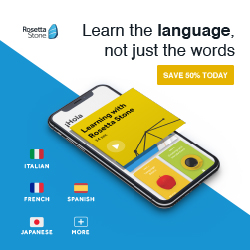 Rosetta Stone UK 50% Off Basic