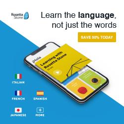 Rosetta Stone UK 50% Off Basic