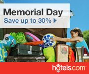 Memorial Day Sale: Save up to 30%! Book by 5/31/11