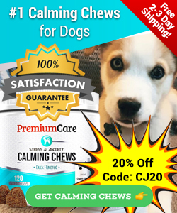 250x300 Calming Chews 20% Off Coupon - Ends Apr 30th