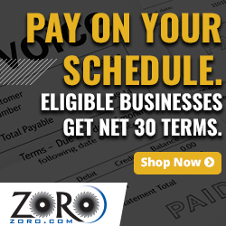 Pay on your own schedule. Eligible businesses get Net 30 Terms - Zoro.com
