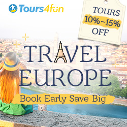 Early Bird to Europe: Tours Up to 15% off