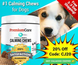 300x250 Calming Chews 20% Off Coupon