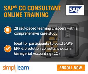 SAP CO Certification Training