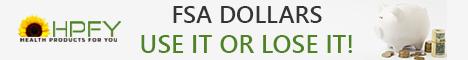 FSA Dollars - Use it or lose it!