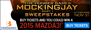 Mockingjay Sweepstakes