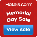 Hotels.com Memorial Day Sale: Save upd to 40%!