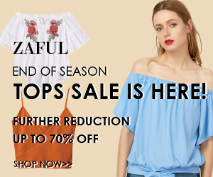 Zaful Promo Code up to 70% off sale