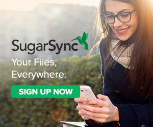SugarSync - Sync Outside the Box