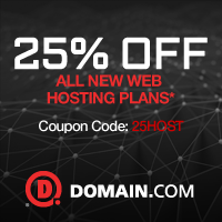 Domain.com coupons for Hosting active and latest