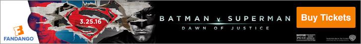 Batman vs Superman from Fandango Tickets and Batman-on-Film.com!