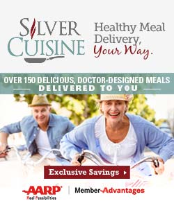 250x300 Silver Cuisine with AARP Members