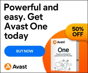 Image for US – AVAST One - 300x250 - 50% Off