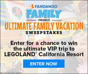 Fandango - Win a VIP trip to LegoLand