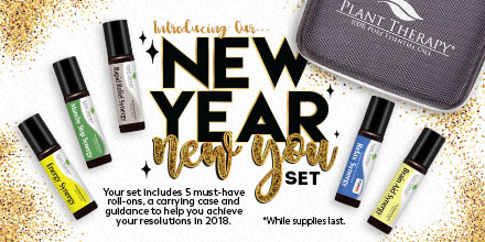 The New Year, New You 5 Piece Set at Plant Therapy! Available Through 1/31 Only! Shop Now!