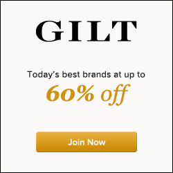 Gilt - today's best brands up to 60% off