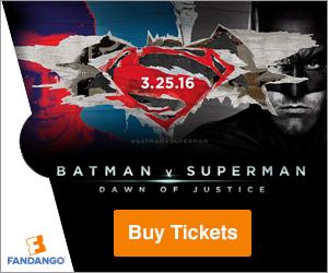 Batman vs Superman Fandango Tickets