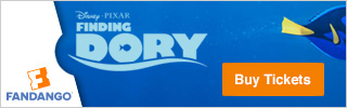 Fandango - Finding Dory Movie Tickets