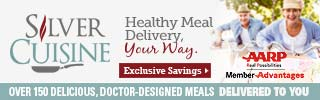 320x100 Silver Cuisine with AARP Members