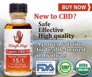 New to CBD? Buy Haleigh's Hope Starter Bottle