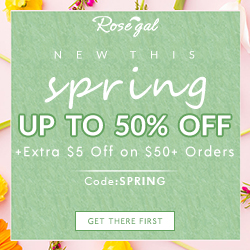 "New This Spring: Up to 50% OFF + Extra $5 Off on 50+ Orders with Coupon Code ""SPRING"""
