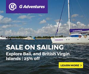 Bali and British Virgin Islands Adventure sports sailing