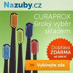 Nazuby.cz - produkty Curaprox skladem