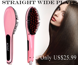 A Comb that straightens hair?!