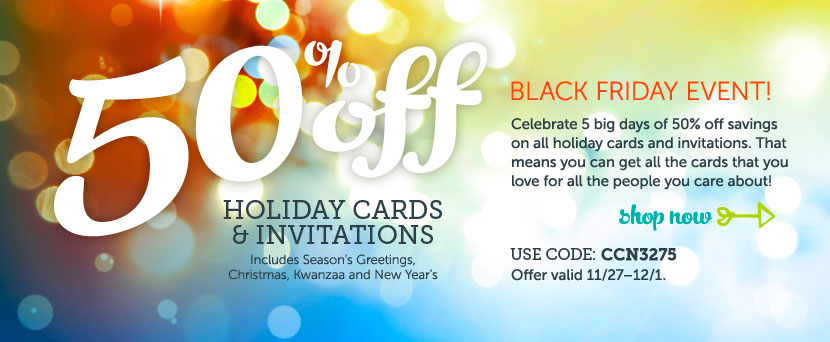 BLACK FRIDAY EVENT! 50% off al...