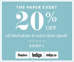 The Paper Event: 20% off all Moleskine & select Kate Spade items