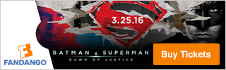 Batman vs Superman Fandango Tickets