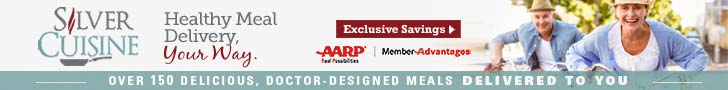 728x90 Silver Cuisine with AARP Members