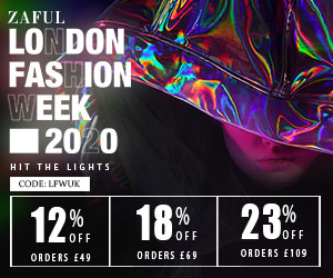 ZAFUL UK SITE: London Fashion Week Special Offers: Up to 23% off