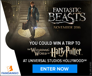 Fantastic Beasts and Where to Find Them FanAlert Sweepstakes
