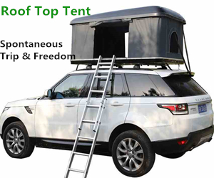 Car Roof Top Tent on the GO