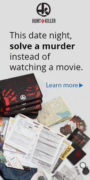 Hunt A Killer Banner, Date Night