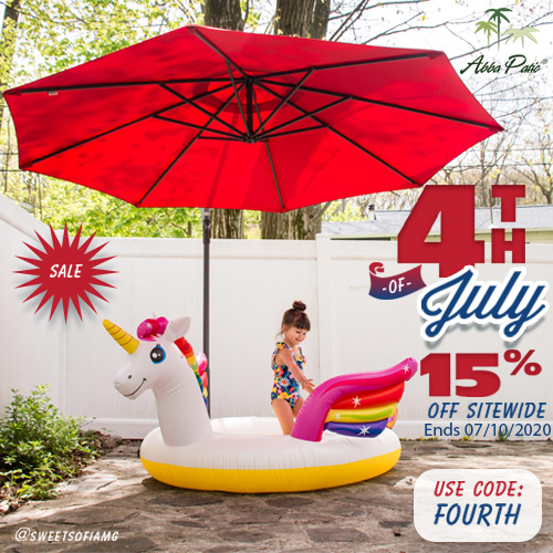 Happy July 4th! Site Wide 15% Off Plus Free Shipping! Use Code FOURTH. Ends 07/10/2020.