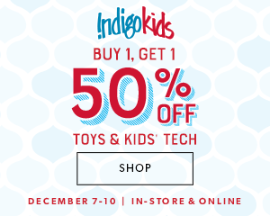 Buy 1 Get 1 50% off toys and kids tech