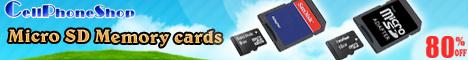 Micro SD Memory Cards 468x60