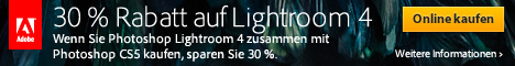 30% sparen: Adobe Photoshop Lightroom 4