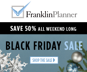 Franklin Covey Black Friday Sale up to 80% off
