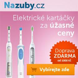Doprava zdarma na NaZuby.cz