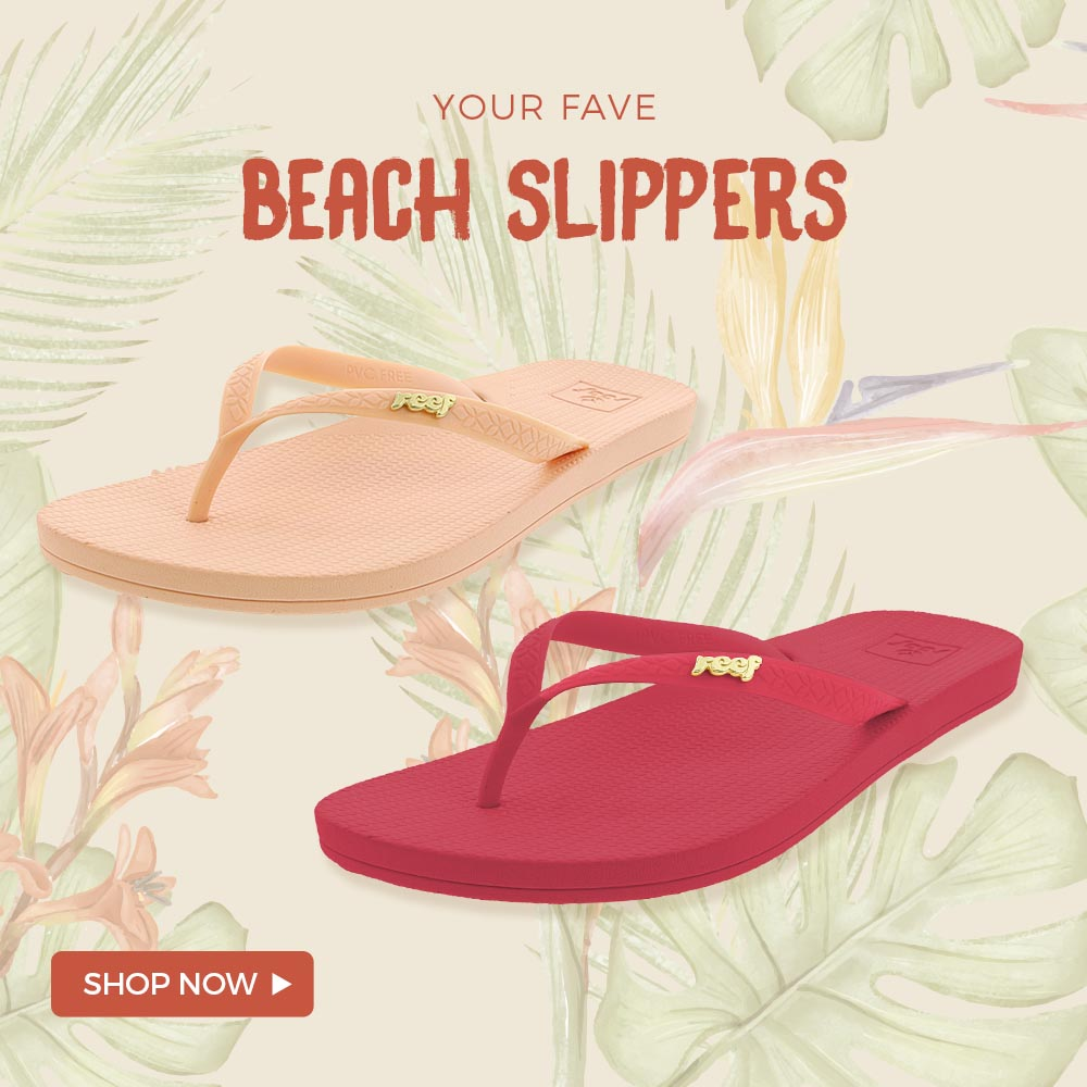 Your Fave Beach Slippers